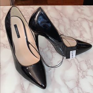 Forever 21 patent classic high heel pumps